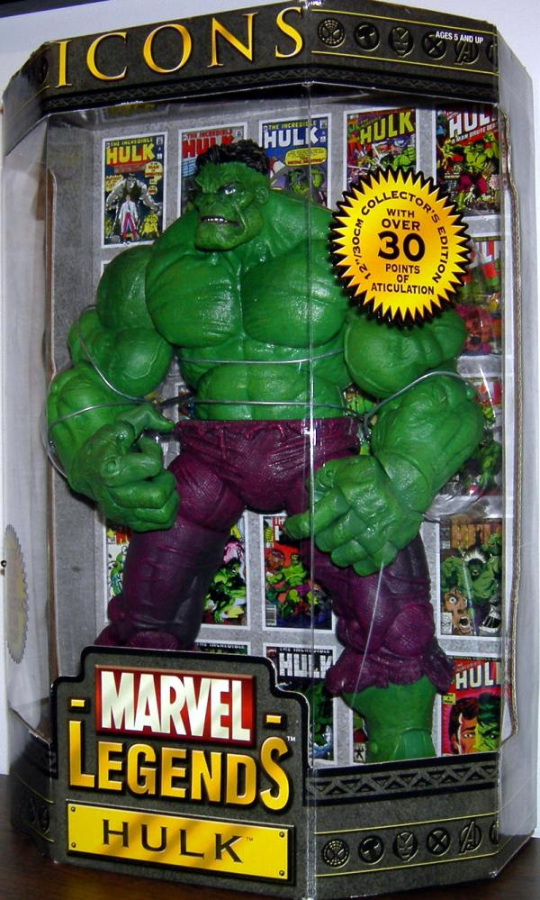 Hulk Icons Marvel Legends 12 Inch action figure