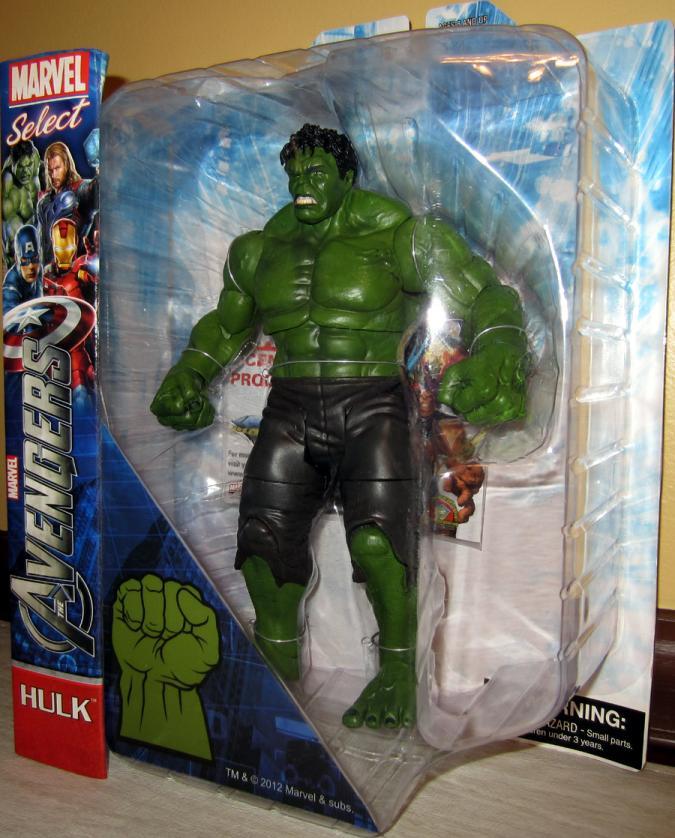 Hulk Marvel Select, Avengers