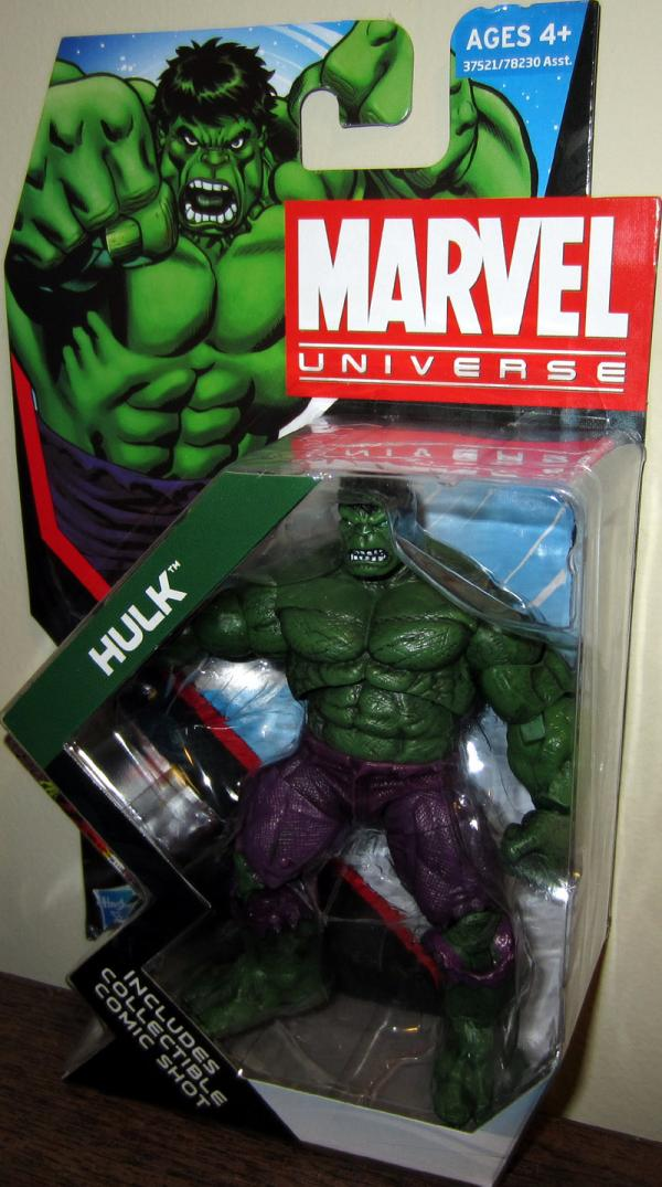 Hulk Marvel Universe series 4 009 Action Figure Hasbro