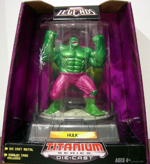Hulk Figure Titanium Series Die-Cast Marvel Legends