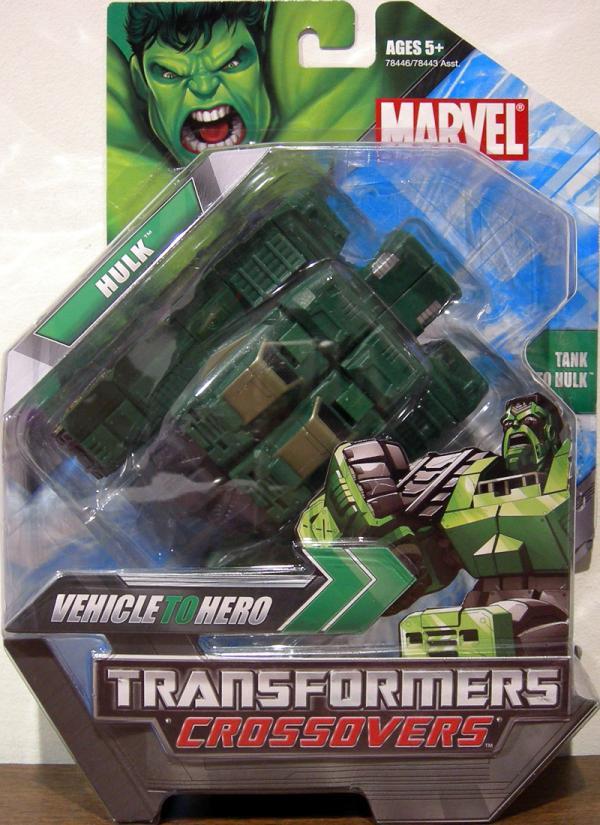 Hulk Transformers Crossovers Action Figure Hasbro