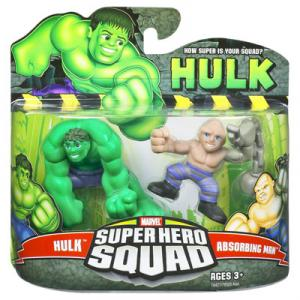 Hulk Absorbing Man Super Hero Squad