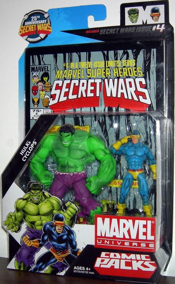 Hulk Cyclops Marvel Universe