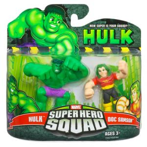 Hulk Doc Samson Super Hero Squad