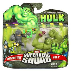 Hulkbuster vs Hulk Super Hero Squad