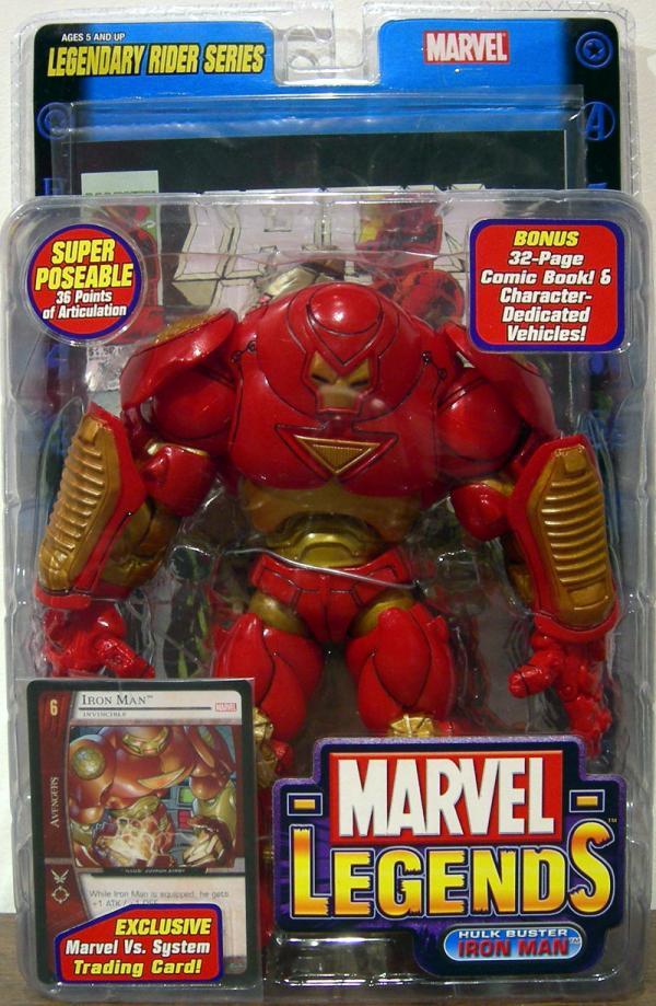 Hulk Buster Iron Man Figure Marvel Legends Legendary Rider Series