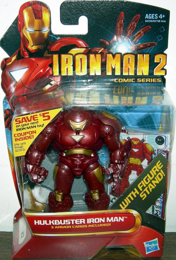 Hulkbuster Iron Man 2 Comic Series 27 action figure