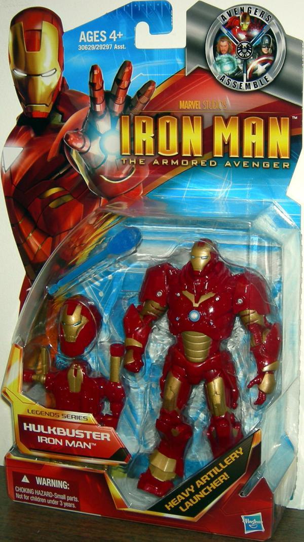 Hulkbuster Iron Man Figure Armored Avenger Legends Series