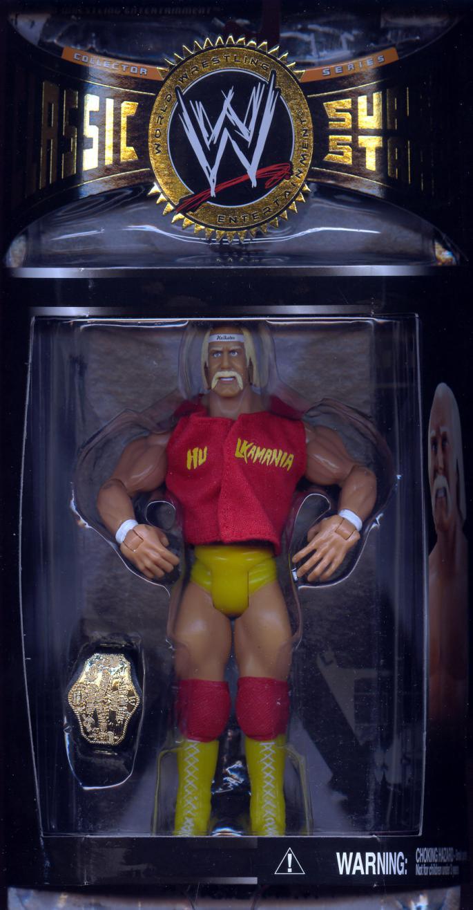 Hulk Hogan series 8 1985 WWF Championship Belt