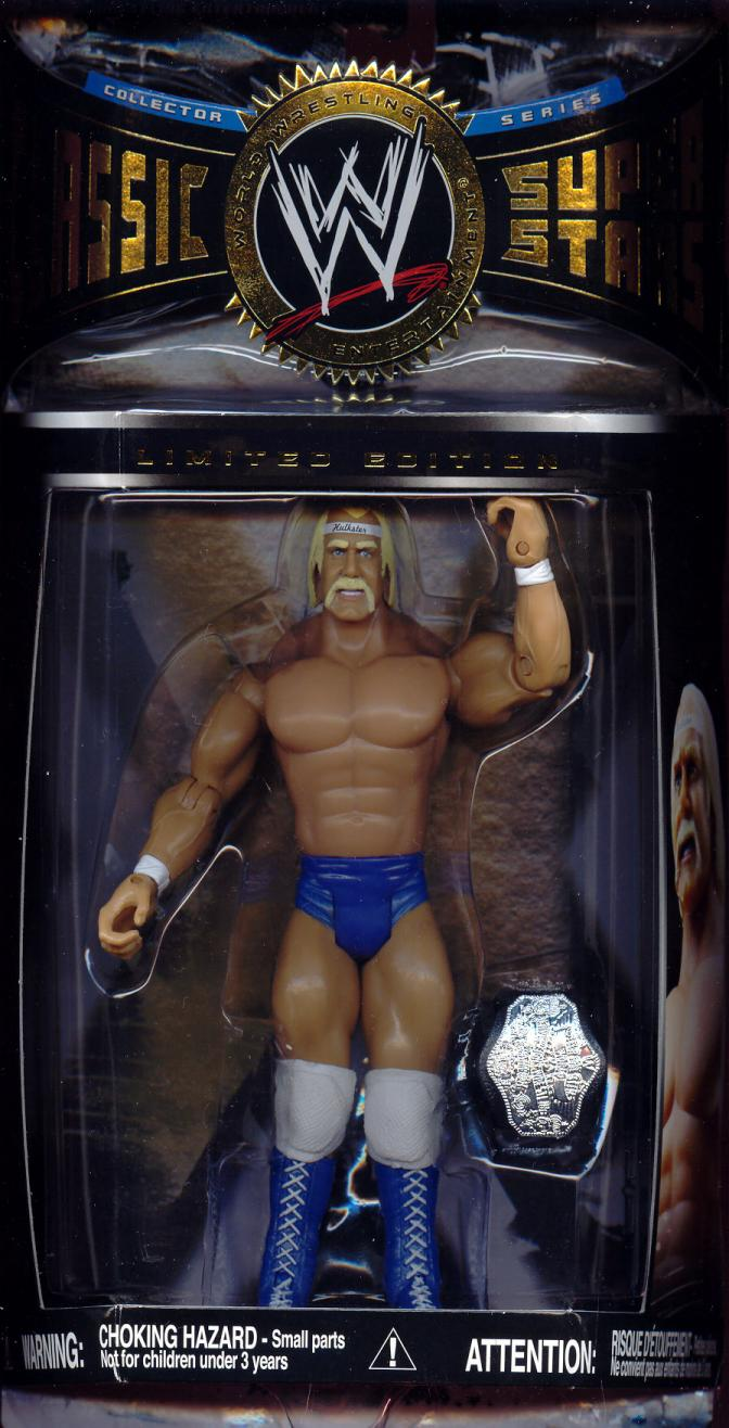 Hulk Hogan Limited Edition Figure Hulkster Outfit WWE Classic