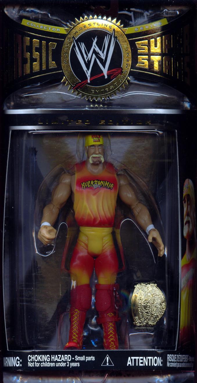 Hulk Hogan Figure Limited Edition Hulkamania Outfit