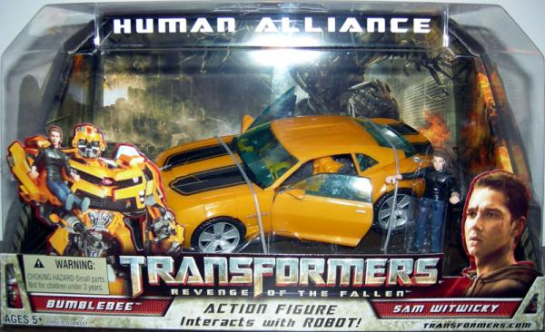 Human Alliance Bumblebee Sam Witwicky