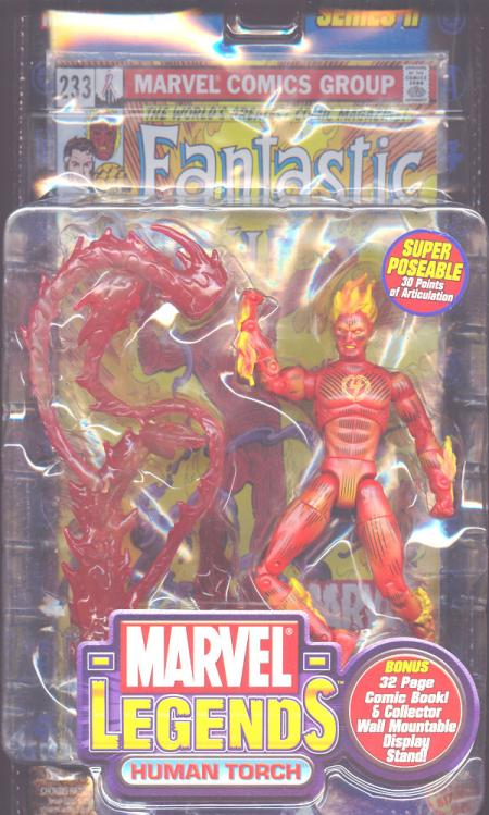 Human Torch Marvel Legends 4 logo