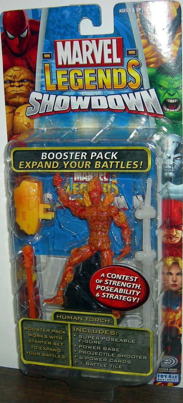 Human Torch Figure Marvel Legends Showdown