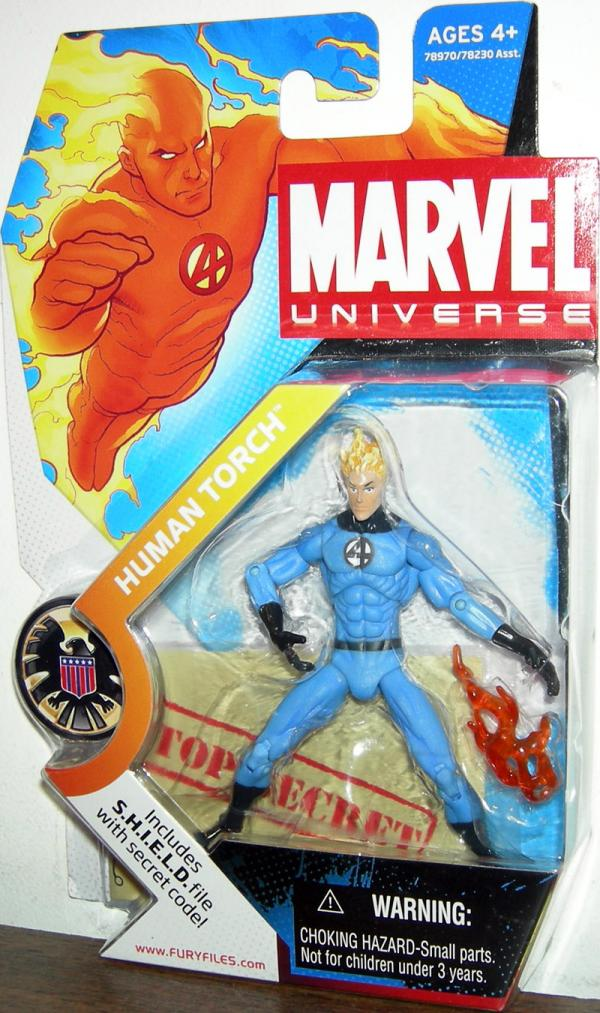 Human Torch Johnny Storm Marvel Universe, light costume, 011