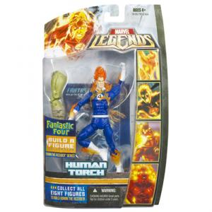 Human Torch Figure Ronan Accuser Series Marvel Legends
