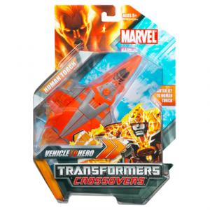 Human Torch Transformers Crossovers