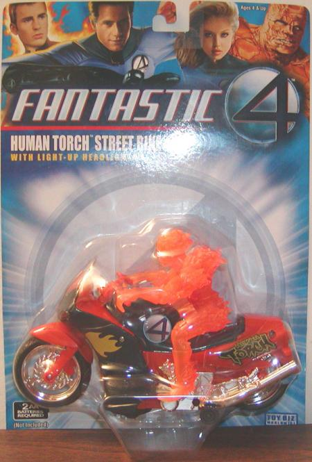 Human Torch Street Bike