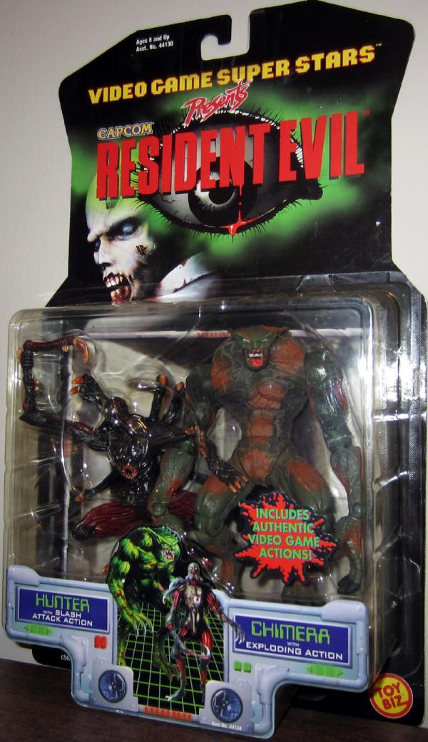 Hunter Chimera Resident Evil action figures