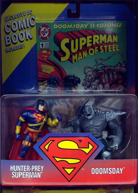 Hunter-Prey Superman vs Doomsday