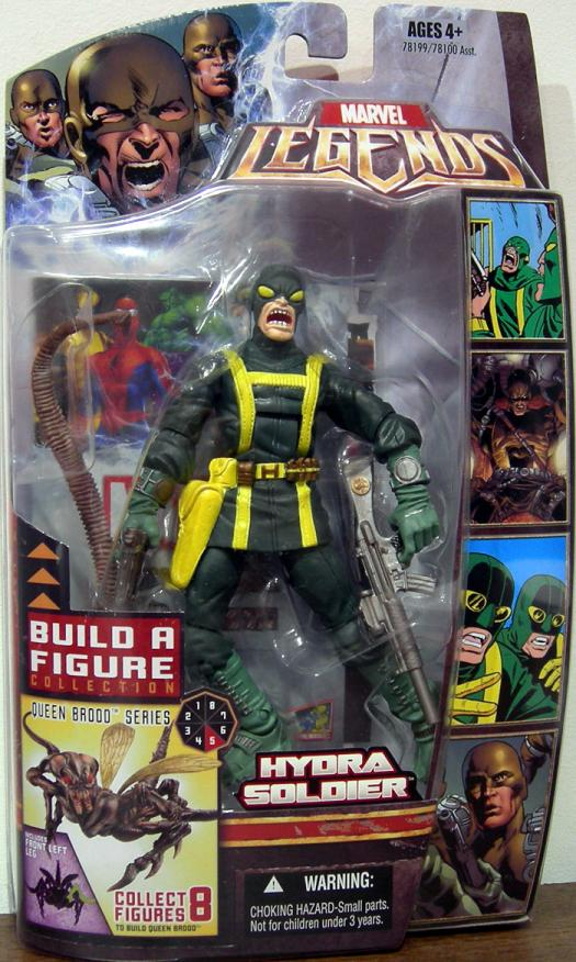 Hydra Soldier Marvel Legends Queen Brood Series variant action figure