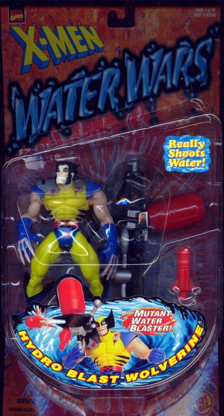 Hydro Blast Wolverine unmasked