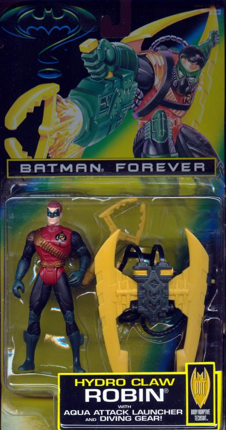 Hydro Claw Robin Figure Batman Forever Movie