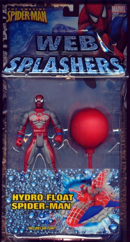 Hydro Float Spider-Man Web Splashers