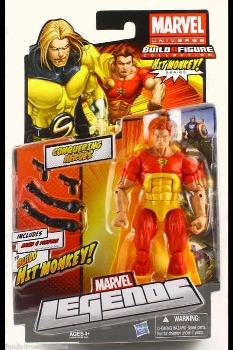 Hyperion Action Figure Marvel Legends Universe Hit Monkey Series
