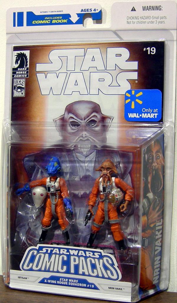 Ibtisam Nrin Vakil Comic Packs 19 Star Wars action figures