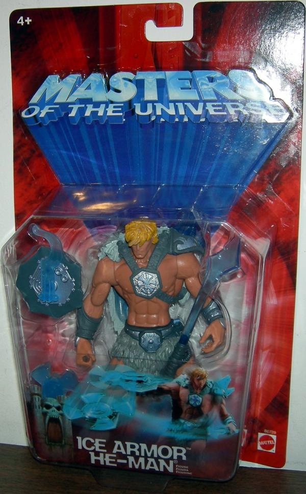Ice Armor He-Man Masters Universe action figure