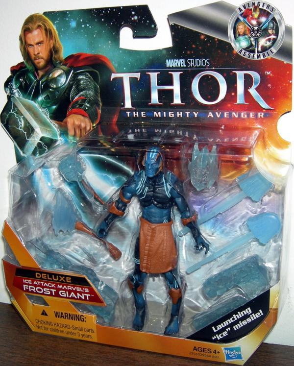 Ice Attack Marvels Frost Giant Deluxe Thor Movie action figure