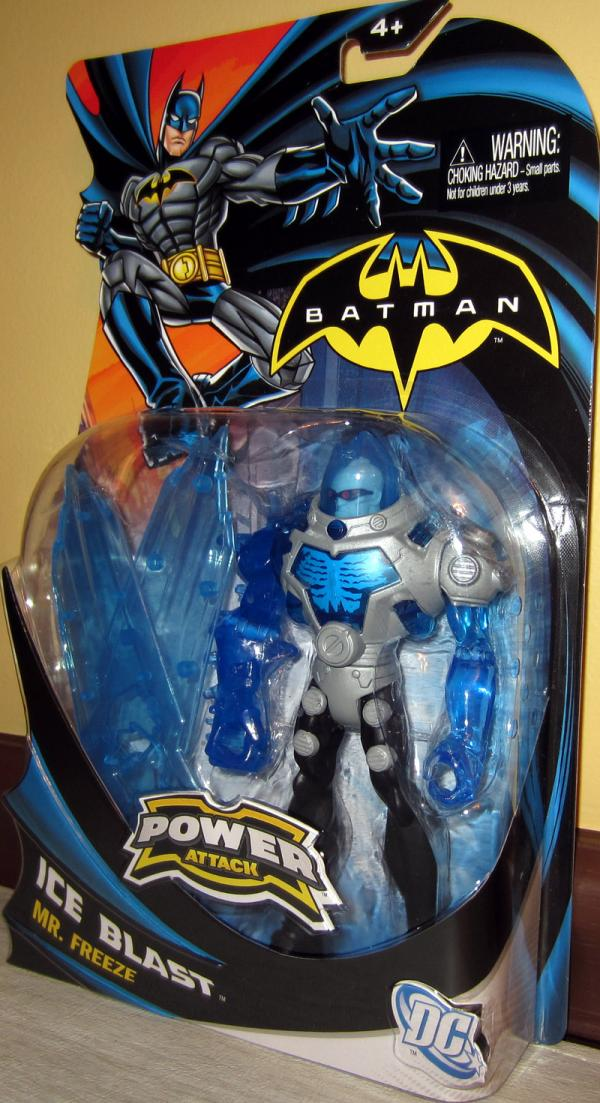 Ice Blast Mr Freeze Batman Power Attack action figure