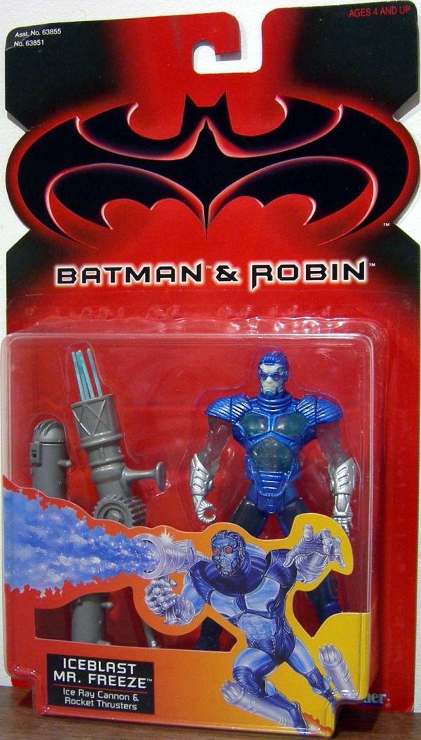 Iceblast Mr Freeze Batman Robin