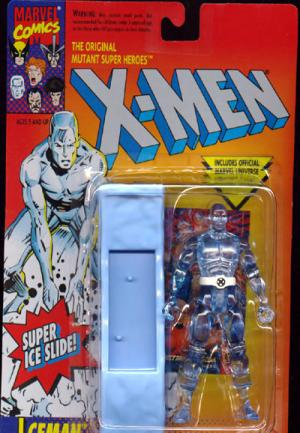 Iceman Super Ice Slide action figure