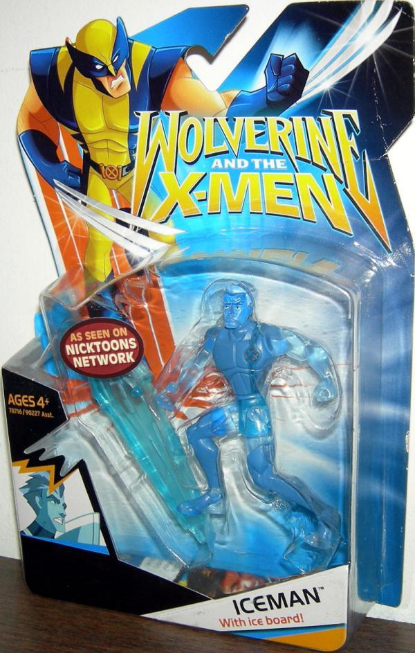 Iceman Wolverine X-Men
