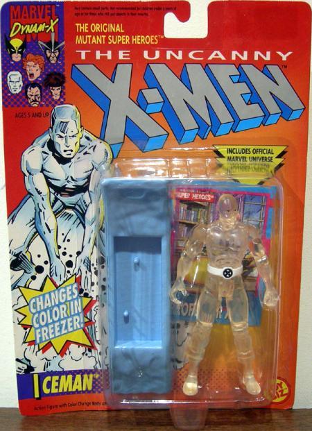 Iceman Changes Color Freezer action figure