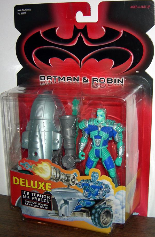 Ice Terror Mr Freeze Batman Robin Movie Deluxe action figure