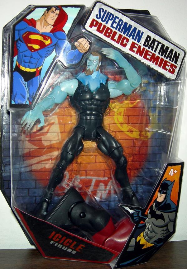Icicle Superman Batman Public Enemies