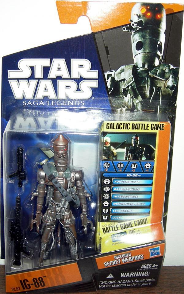 IG-88 SL02 Star Wars Saga Legends action figure
