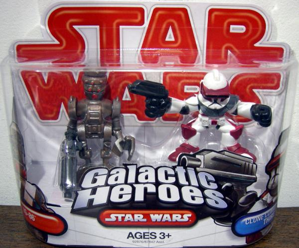 IG-86 Clone Commander Thire Galactic Heroes