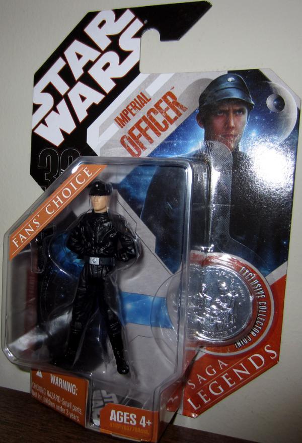 Imperial Officer Figure Blonde Hair Saga Legends Star Wars