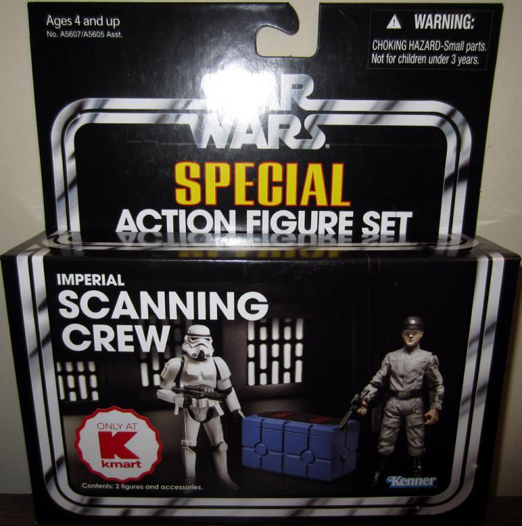 Imperial Scanning Crew Action Figures kmart Exclusive Star Wars