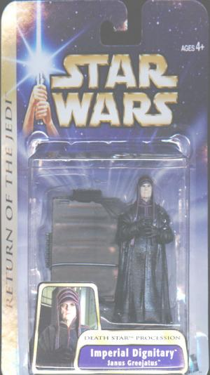 Janus Greejatus Imperial Dignitary Star Wars Return Jedi action figure