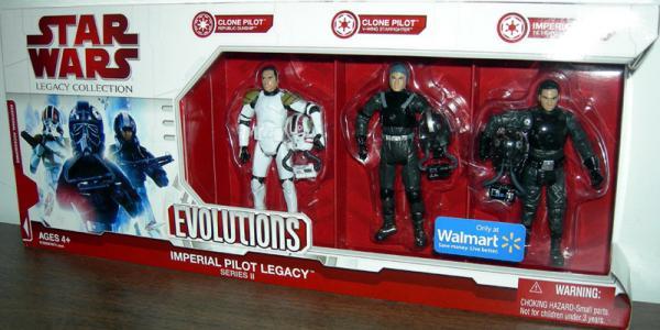 Imperial Pilot Legacy 3-Pack series II