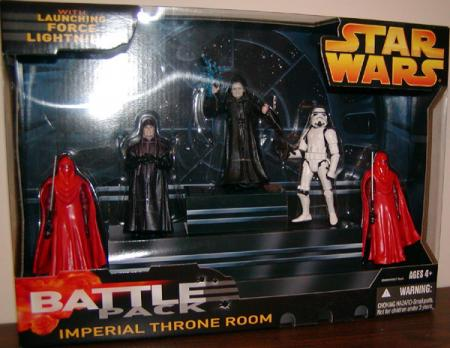 Imperial Throne Room Battle 5-Pack action figures