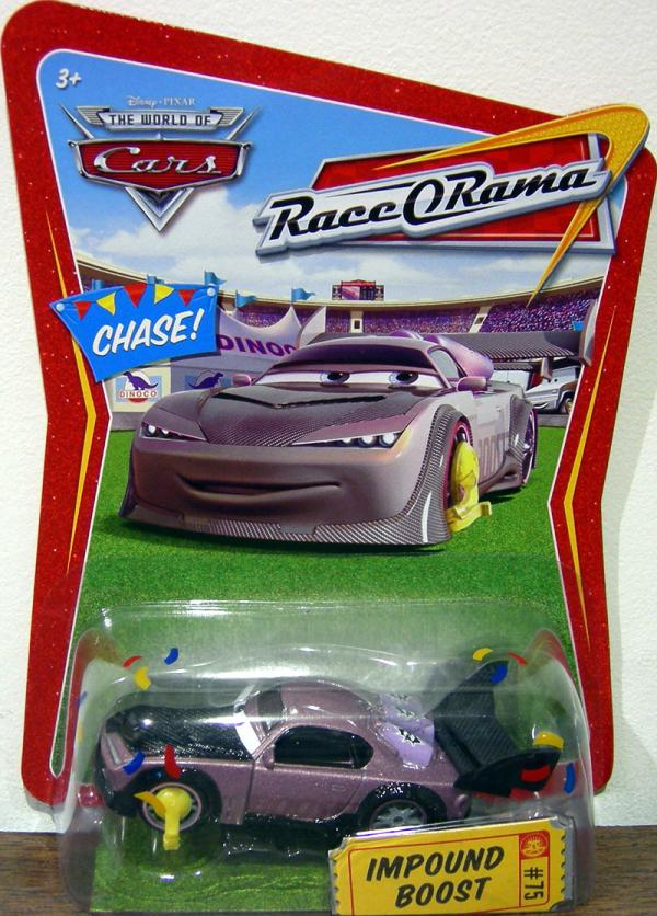 Impound Boost Cars Movie vehicle