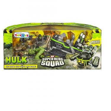 The Incredible Hulk Super Hero Squad Movie Cinema Scene 5-Pack