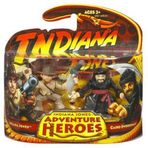 Indiana Jones vs Cairo Swordsman Adventure Heroes