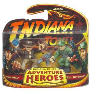 Indiana Jones vs Col Dovchenko Adventure Heroes